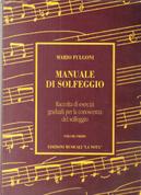 Manuale di solfeggio-vol.1 by Mario Fulgoni