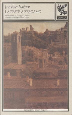 La peste a Bergamo by Jens Peter Jacobsen