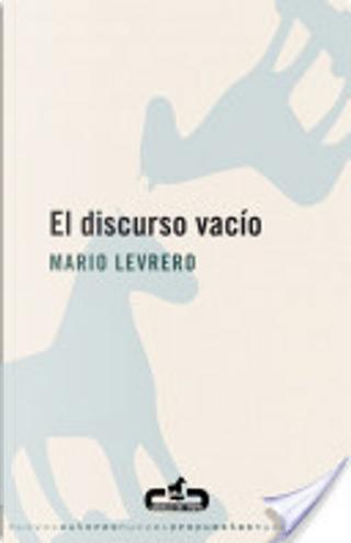 El discurso vacío by Mario Levrero