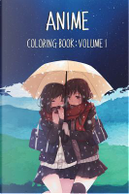 Anime Coloring Book by Treasure Box Publishing