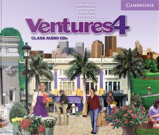 Ventures Level 4 Class Audio CD by Gretchen Bitterlin