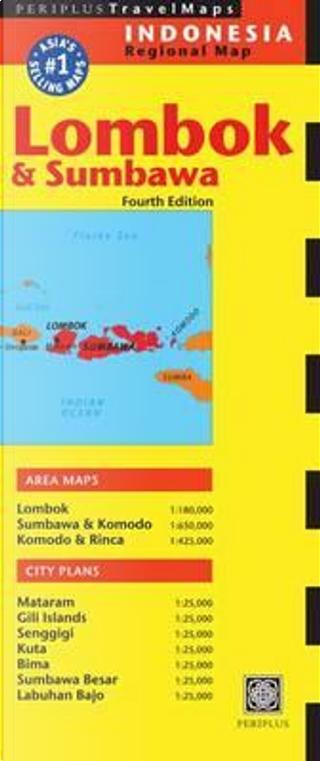 Periplus Travel Map Lombok & Sumbawa by Periplus Editors