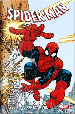 Legends of Marvel: Spiderman by Gerry Conway, Erik Larsen, Peter David, Louise Simonson, Ralph Macchio, Tom De Falco, Ron Frenz, Randy Schueller