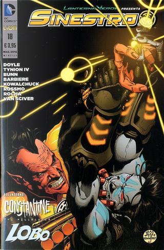Lanterna verde presenta: Sinestro 18 by Cullen Bunn, Frank Barbiere, James Tynion IV, Ming Doyle