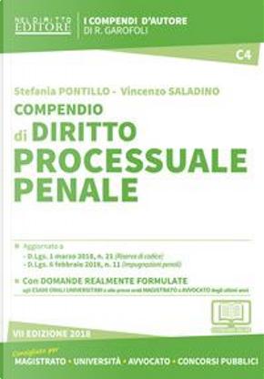 Compendio di diritto processuale penale. Con aggiornamento online by Stefania Pontillo