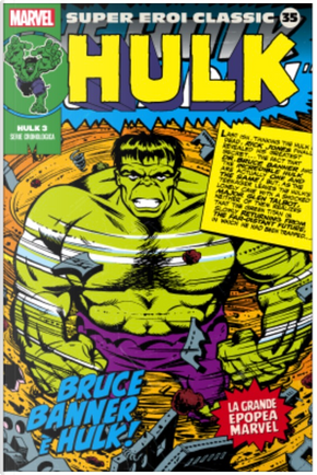Super Eroi Classic vol. 35 by Jack Kirby, Stan Lee