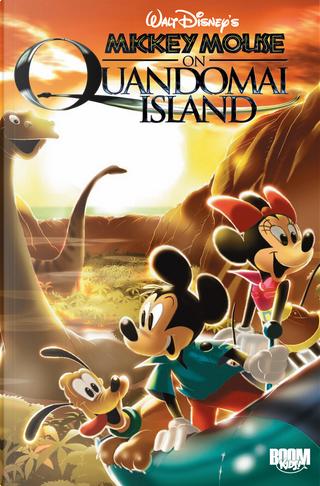 Mickey Mouse on Quandomai Island by Casty, François Corteggiani, Roberto Ronchi