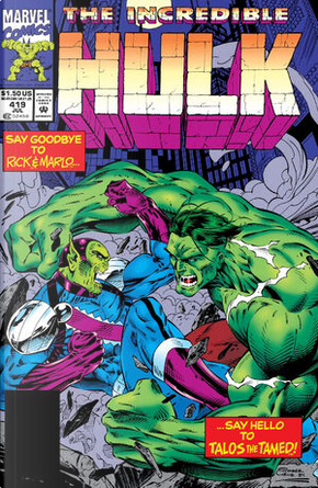 The Incredible Hulk vol. 1 n. 419 by Peter David