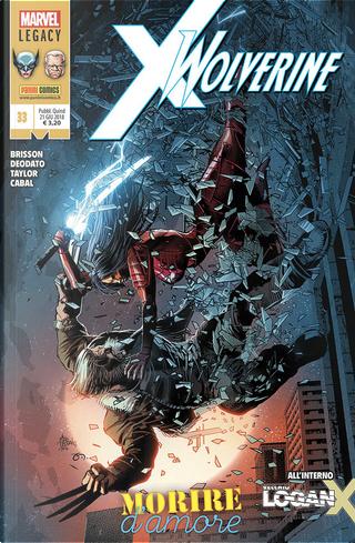 Wolverine n. 359 by Ed Brisson