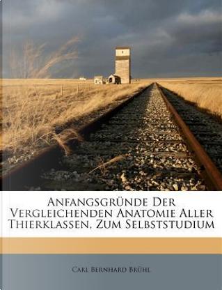 Anfangsgründe Der Vergleichenden Anatomie Aller Thierklassen, Zum Selbststudium by Carl Bernhard Brühl