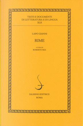 Rime by Lapo Gianni