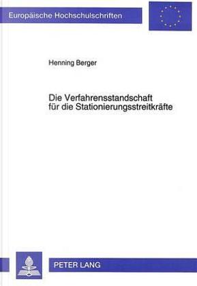 Die Verfahrensstandschaft für die Stationierungsstreitkräfte by Henning Berger