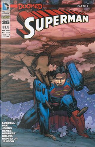 Superman #36 - Premium Cover by Geoff Jones, Greg Pak, Scott Lobdell