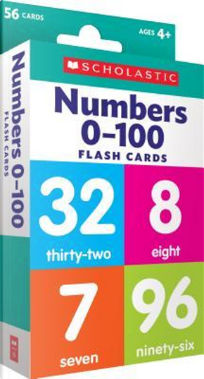 Numbers 0-100 by SCHOLASTIC INC.