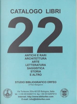 Catalogo libri n. 22