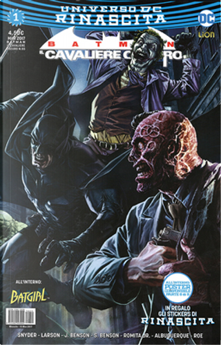 Batman: Il cavaliere oscuro #1 by Hope Larson, Julie Benson, Scott Snyder, Shawna Benson