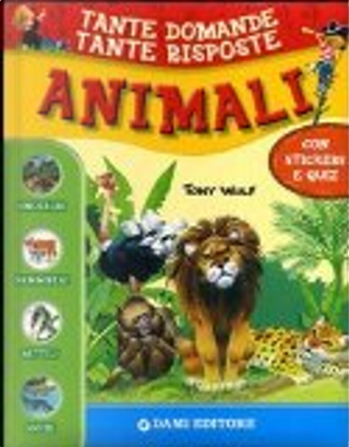 Animali. Con adesivi by Giuseppe Zanini