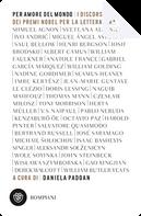 Per amore del mondo by Aleksandr Solženicyn, Czeslaw Milosz, Derek Walcott, Doris Lessing, Gabriel Garcia Marquez, Gao Xingjian, Harold Pinter, Herta Müller, Imre Kertész, Iosif Brodskij, Isaac Bashevis Singer, Jean-Marie Gustave Le Clézio, John Steinbeck, José Saramago, Kenzaburō Ōe, Michail Šolochov, Miguel Angel Asturias, Nadine Gordimer, Naguib Mahfouz, Octavio Paz, Pablo Neruda, Saul Bellow, Seamus Heaney, Shmuel Yosef Agnon, Svetlana Aleksievič, Toni Morrison, William Golding, Wislawa Szymborska, Wole Soyinka