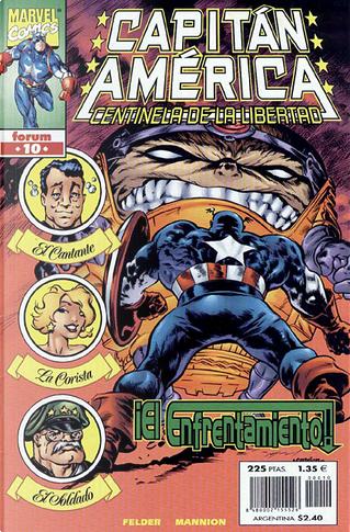 Capitán América: Centinela de la libertad Vol.1 #10 (de 12) by James Felder