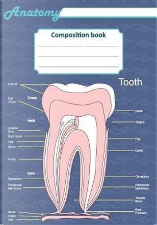 Anatomy composition book by Till Hunter