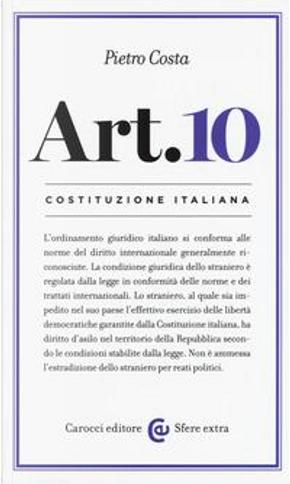 Costituzione italiana by Pietro Costa
