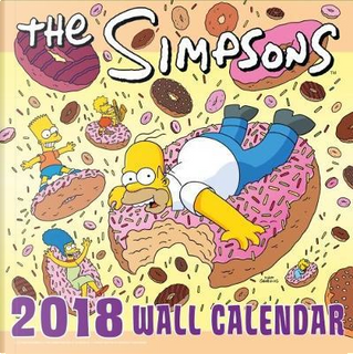 The Simpsons Official 2018 Calendar - Square Wall Format Calendar (Calendar 2018) by The Simpsons