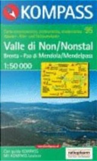 95: Nonstal/Val Di Non 1:50, 000 by Kompass-Karten GmbH