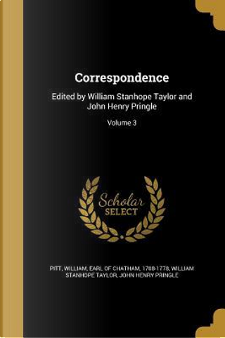 CORRESPONDENCE by William Stanhope Taylor