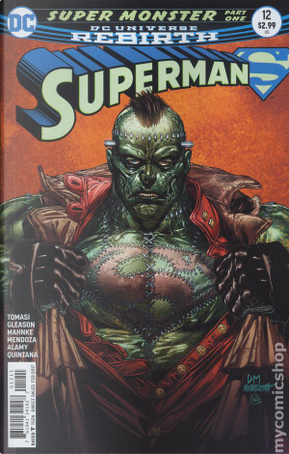 Superman Vol.4 #12 by Patrick Gleason, Peter J. Tomasi