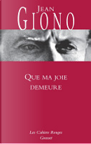 Que ma joie demeure by Jean Giono
