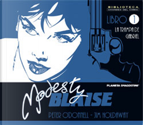 Modesty Blaise Nº1 by Peter O'Donnell