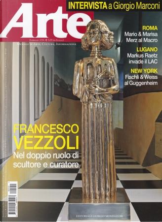 Arte n. 510, anno XLVII, febbraio 2016 by Michele Bonuomo