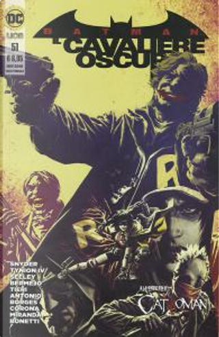 Batman Il Cavaliere Oscuro n. 51 by Frank Tieri, James Tynion IV, Lee Bermejo, Scott Snyder, Tim Seeley