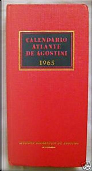 Calendario atlante De Agostini 1965