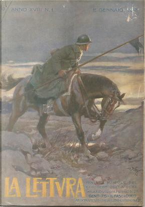 La lettura, anno XVIII, n. 1, gennaio 1918