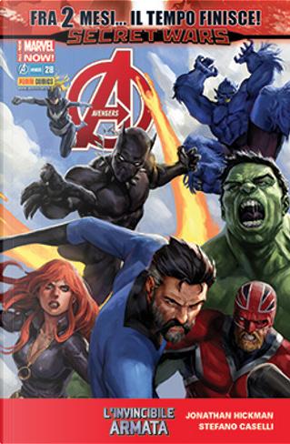 Avengers n. 43 by Frank Barbiere, Jonathan Hickman