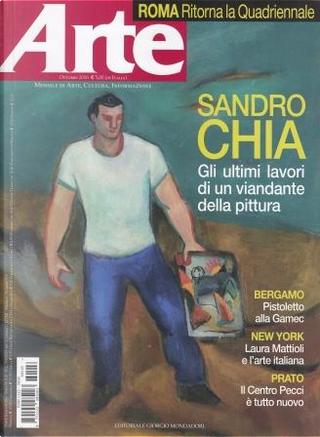 Arte n. 518, anno XLVII, ottobre 2016