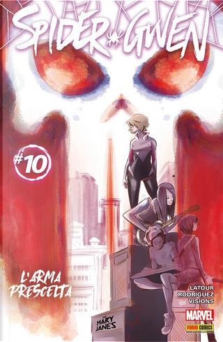 Spider-Gwen #10 by Jason Latour