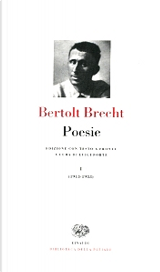 Poesie I by Bertolt Brecht