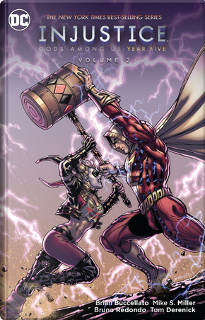 Injustice Gods Among Us Year Five 2 by Brian Buccellato