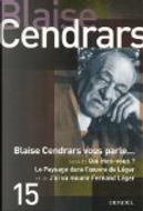 Blaise Cendars vous parle... by Blaise Cendrars