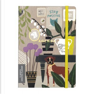 Anne Bentley Inspired Life Gilded Undated Planner by Galison