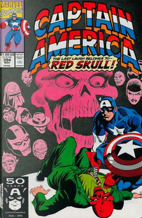 Captain America Vol.1 #394 by Mark Gruenwald