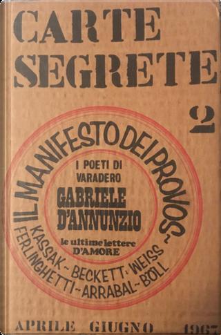 Carte segrete n. 2, anno I, aprile-giugno 1968 by