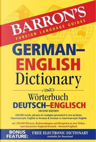 German-English dictionary by Barron's