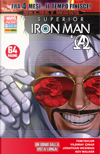 Iron Man & New Avengers n. 28 by Jonathan Hickman, Tom Taylor