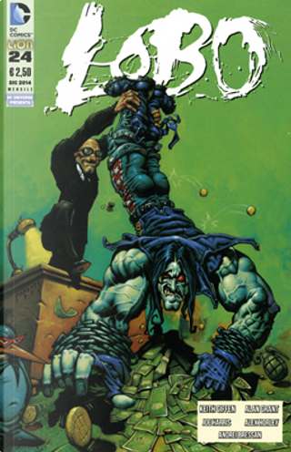 Lobo n. 24 by Alan Grant, Keith Giffen, Joe Harris