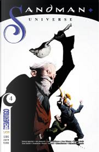 Sandman universe vol. 4 by Simon Spurrier, Nalo Hopkinson, Kat Howard
