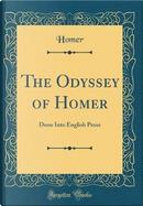 The Odyssey of Homer by Homer Homer