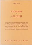 Problemi di analisi by Max Black